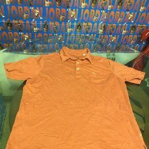 Tommy Bahama Relax Fit Salmon Polo Shirt Medium